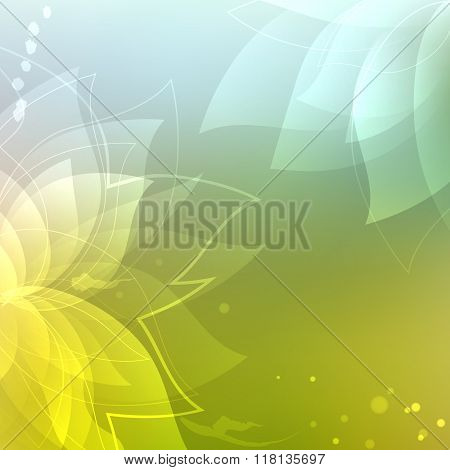 Colorful floral abstract background. Abstract  background