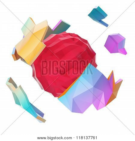 Abstract Polygonal Planet