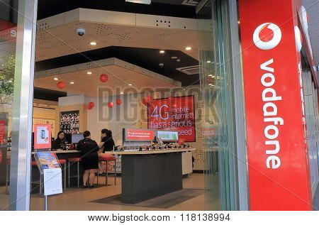 Vodafone telecommunication company