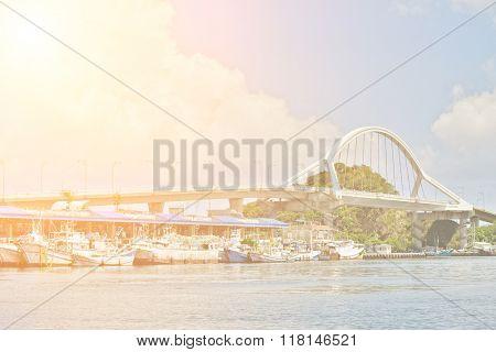 Famous fishing port, Suao, Taiwan, East Asia.