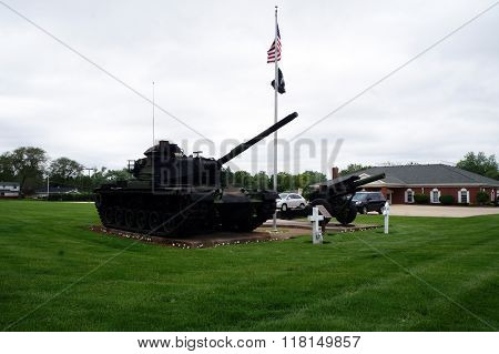 Tank and Cannon