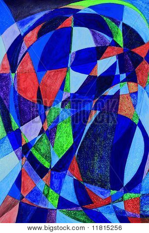 Serenethos Abstract Art Painting