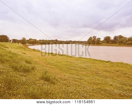 Elbe River Vintage