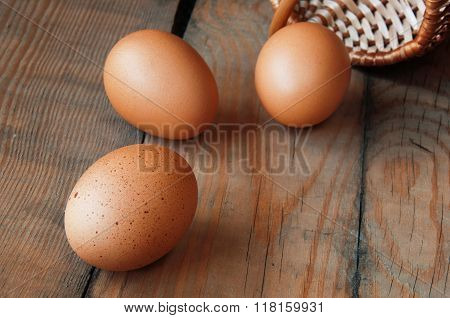 Three Eggs On The Table