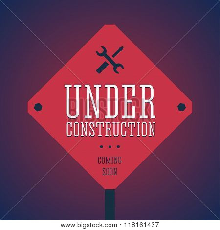 Under construction illustration.