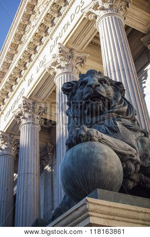 Spanish Congress Entrance