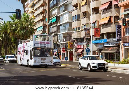 Double-decker Tourist Bus, Alicante, Valencia, Spain