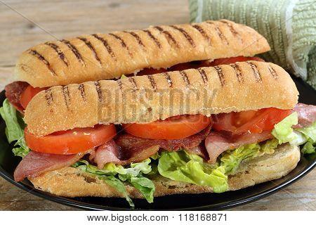 Bacon Lettuce And Tomato Panini