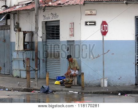 Poverty In Panama Casco Viejo