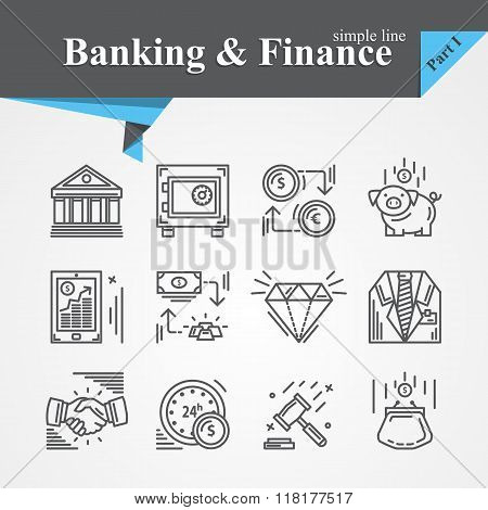 Banking and Finance icon