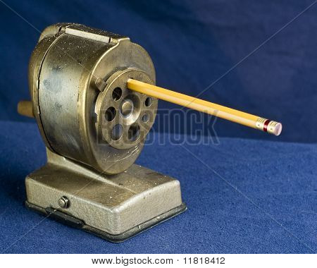Dirty Antique Pencil Sharpener