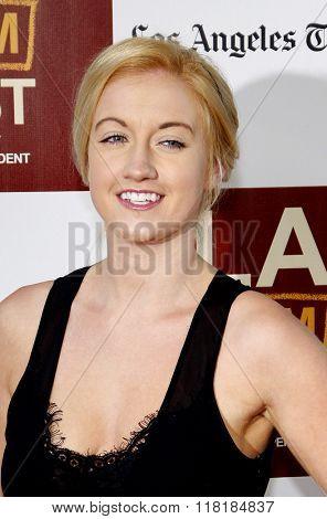 Laura Linda Bradley at the 2012 Los Angeles Film Festival premiere of