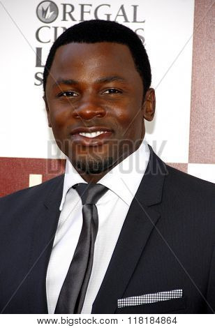 Derek Luke at the 2012 Los Angeles Film Festival premiere of