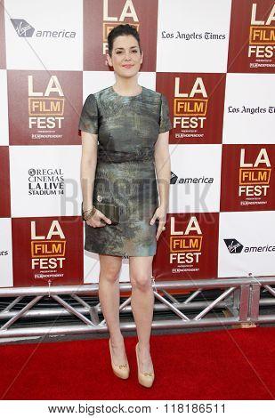 Melanie Lynskey at the 2012 Los Angeles Film Festival premiere of