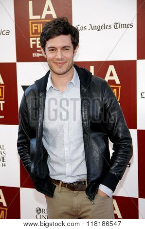 Adam Brody at the 2012 Los Angeles Film Festival premiere of