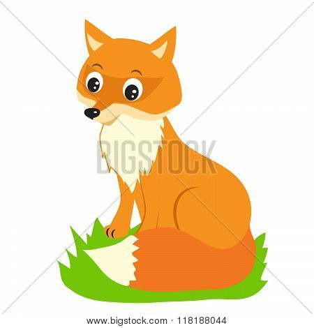 Fox Vector Illustration. Fox Vector. Figure Foxes. Fox On A White Background. Fox Wild. Beautiful Fox. Fox Animal. Vector Fox. Stock Image Fox. Fox Animal Totem. Fox Animal Sticker. Fox Memes.