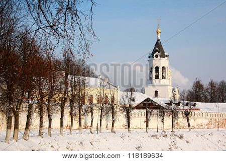 The Monastery Of The Nativity In Vladimir, Russia