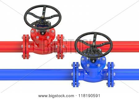 Pipelines With Valves