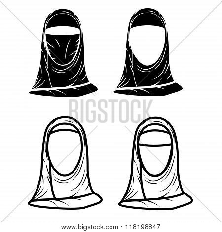 Paranja. Hijab