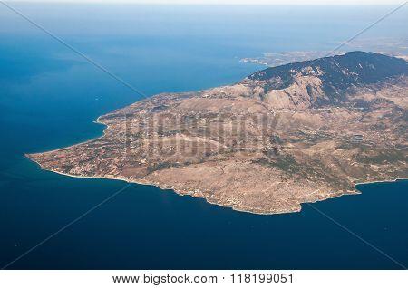 Aerial View Of Kefalonia