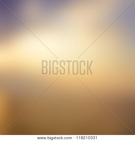 Blurred Sunrise Background.