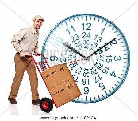 48 Ours Clock Shipping