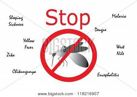 Stop Mosquito Borne Diseases