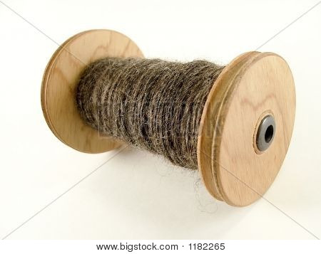 Spool Of Handspun Yarn