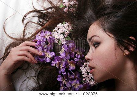 Asiatische Glamour girl