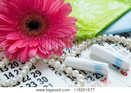 Woman Critical Days, Menstrual Period, Pad, Napkin, Cotton Tampons, Sanitary Pads, Critical Days, Me