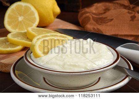 Lemon Yogurt