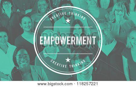 Empowerment Empower Empowering Improvement Concept