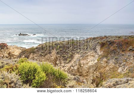 Travelling Concepts And Prominent Places. Amazing And Breathtaking View Of Pacific Coastline