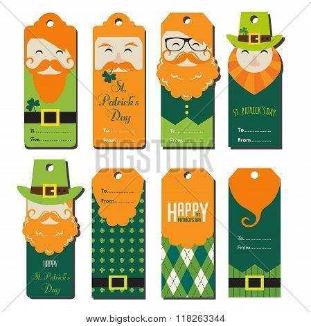 saint Patricks day gift tags