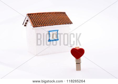 House And Clipped Heart