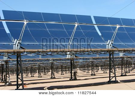 Solar panels for alternative energy
