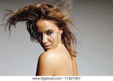 Sexy ethnic girl