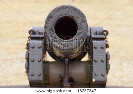 Bull Run Looking Down Barrel Of Cannon