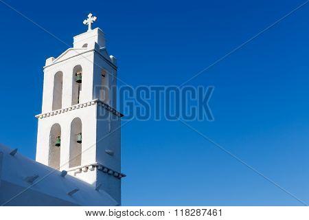 Greek Church In Ios Island, Greece