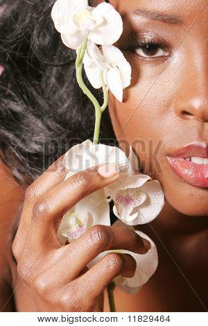 Gorgeous sexy black woman