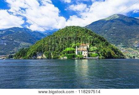 beautiful  Lago di Como, villa del Balbinello