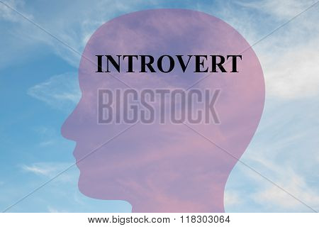 Introvert Concept