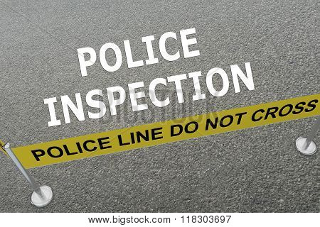 Police Inspection Concept