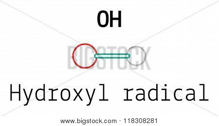OH hydroxyl radical