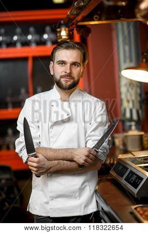 Chef cook portrait