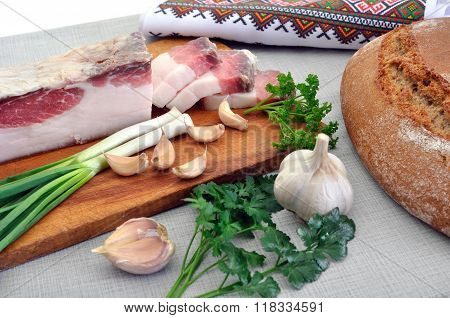 Traditional Simple Ukrainian Food