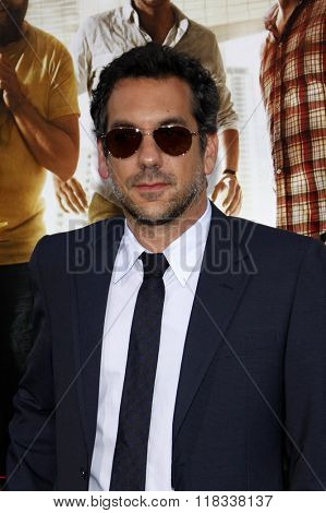 Director Todd Phillips at the Los Angeles Premiere of
