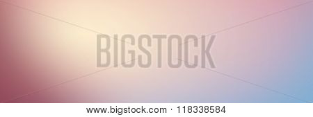 Smooth Gradient Background With Pastel Pink And Blue Colors. Lon