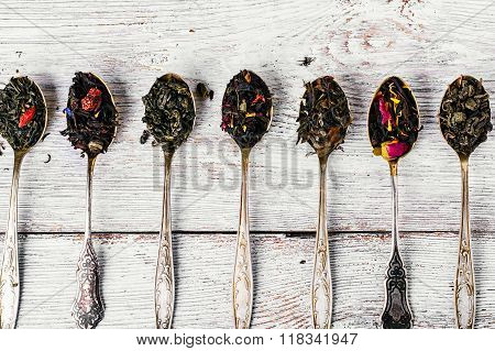 Varieties Of Teas