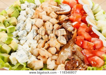 Traditional American Cobb Salad
